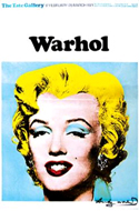 Warhol Marilyn Monroe poster, signed