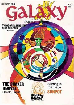 Galaxy Science Fiction Magazine, February 1970