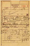 Receipt Signed by Lucille Ball
