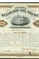 100 Shares of Standard Oil Stock Certificate