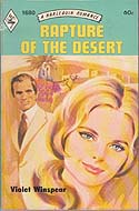 Rapture of the Desert by Violet Winspear