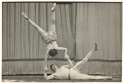 The Famous Ginestra Duo Acrobats