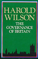 The Governance of Britain by Harold Wilson