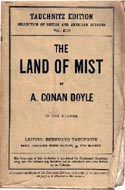 The Land of Mist by Arthur Conan Doyle