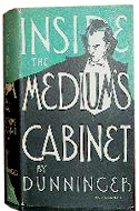 Inside the Medium�s Cabinet by Joseph Dunninger