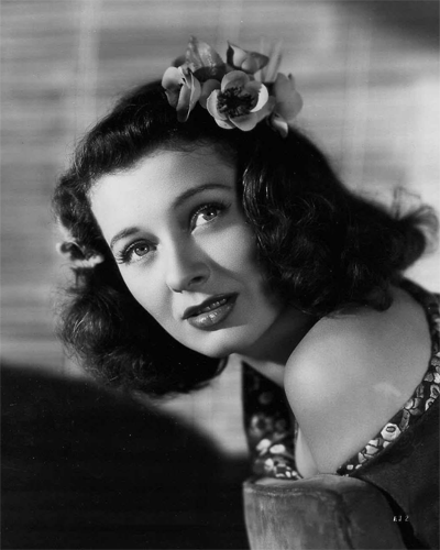 Photo by Ray Jones of Ellen Drew in The Imposter from 1944.