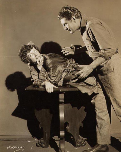 Another still photograph of Joan Crawford from the 1929 film Untamed. Crawford pictured with Don Terry.