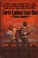 Forty Lashes One Less by Elmore Leonard