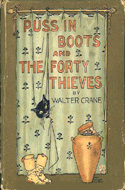 Puss in Boots and the Forty Thieves by Walter Crane