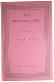 First Edition of The Less Deceived by Philip Larkin