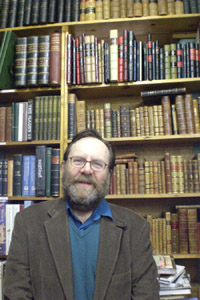 Bookseller Profile Nigel Burwood of Any Amount of Books