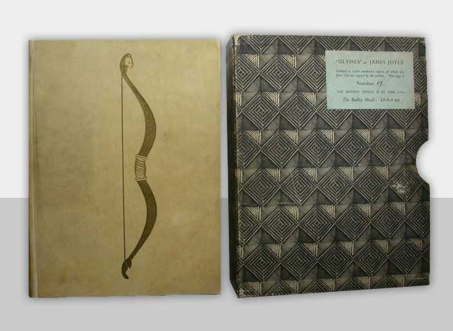 Image of Ulysses and original slipcase