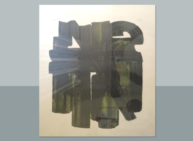 Image of Eau by Pierre Soulages