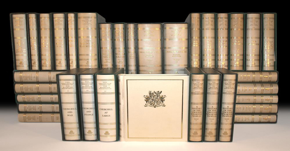Stunning Rare Book Sale In September 2014 Winston Churchill Collected Essays Essay