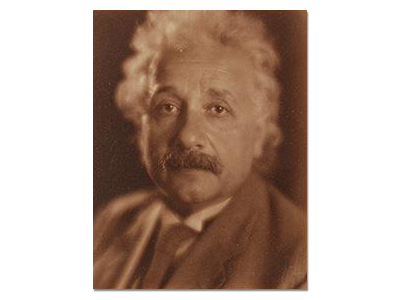 Portrait of Einstein