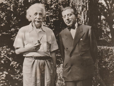 Einstein and Ralph Lazarus