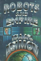 Robots and Empire by Isaac Asimov, signed first edition